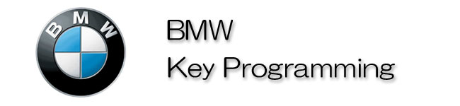 BMW KEY PROGRAMMING