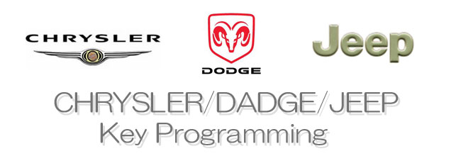 CHRYSLER DAFGE JEEP KEY PROGRAMMING